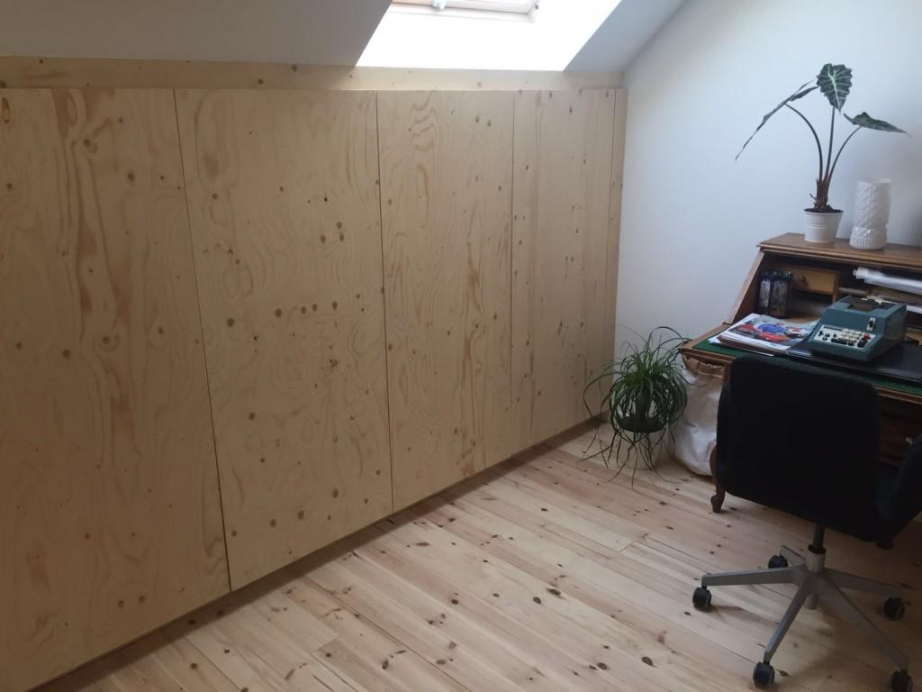 Zolder inbouwkasten 3