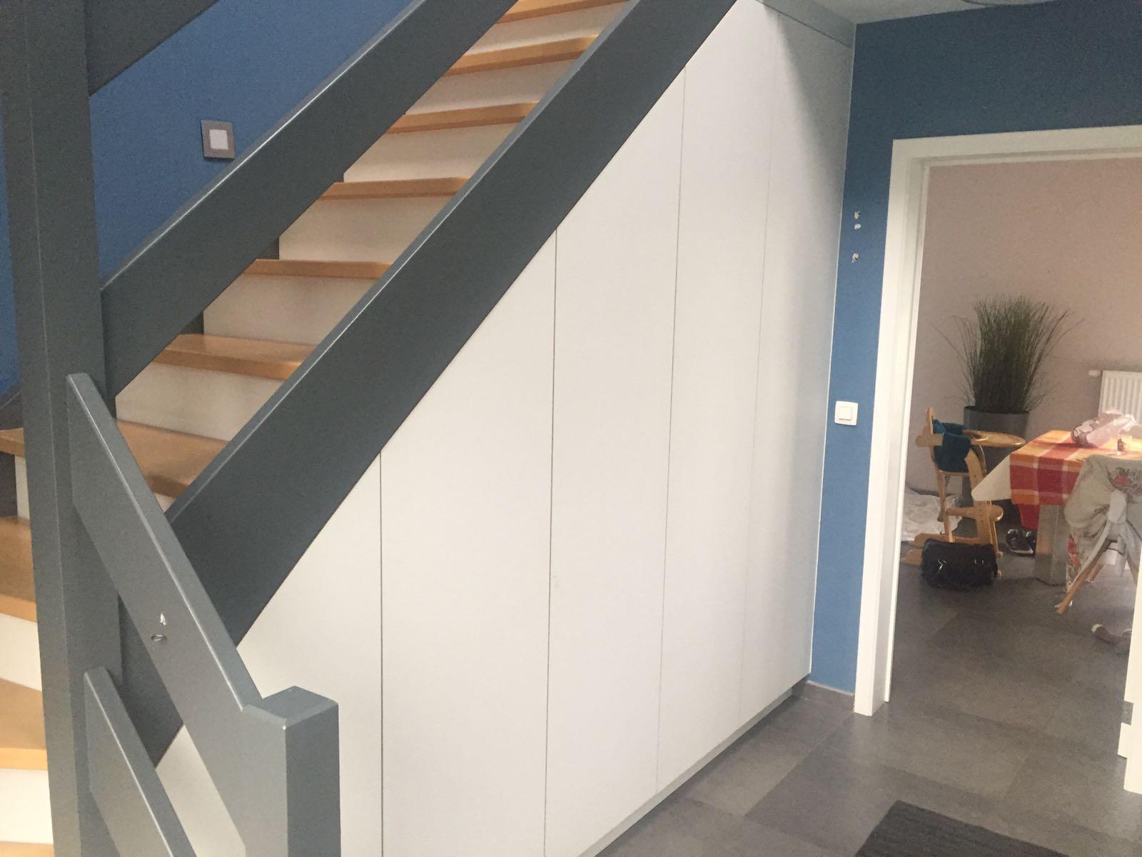 Keuken Onder Trap : Kasten design by devos